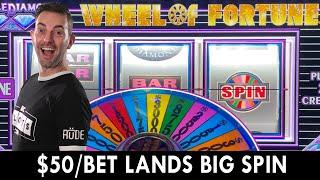 🤯 Last $50 Spin Lands Huge Wheel Of Fortune Win 🤯