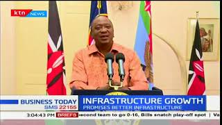 President Uhuru lauds Jubilee government for transport infrastructure growth