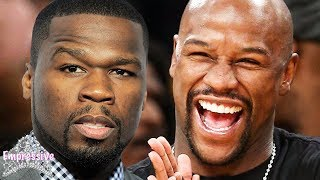 """Floyd Mayweather exposes 50 Cent: """"You have Herp3s and you're broke!"""""""