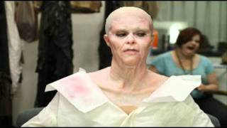 Silicone makeup application timelapse by Joel Echallier - SFX Studio Inc.