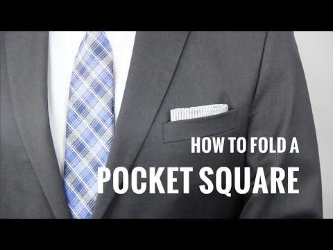 Πως να διπλώσετε το μαντήλι πέτου (7 τρόποι)