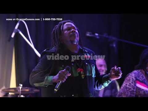 Luciano in Toronto at the Jamaican Canadian Association JCA - Full Video Preview