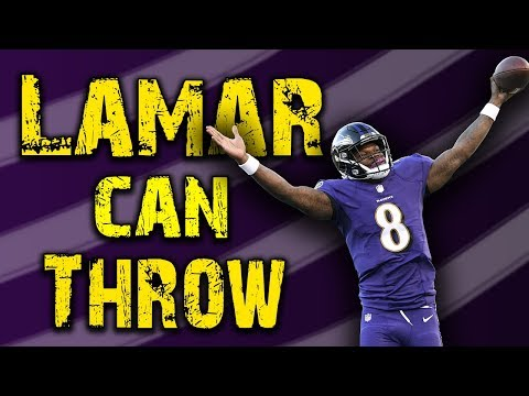 Lamar Jackson Can Throw – NFL is Doomed