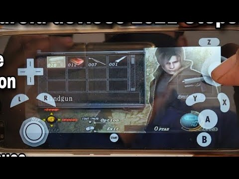 RESIDENT EVIL 4 HACKED SAVE DATA FOR GAMECUBE DOLPHIN
