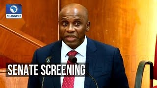 Senate Screens Rotimi Amaechi