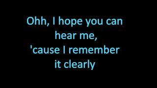 I Miss You - Avril Lavigne with lyrics