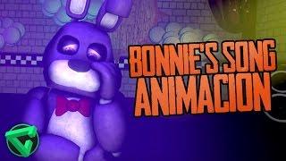 """BONNIE'S SONG ANIMACIÓN - """"La Canción de Bonnie de Five Nights at Freddy's"""" (Animation)"""