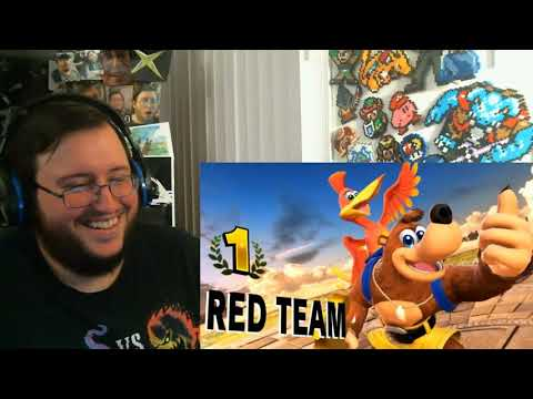 "Super Smash Bros. Ultimate Mr. Sakurai Presents ""Banjo & Kazooie"" GROUP REACTION"