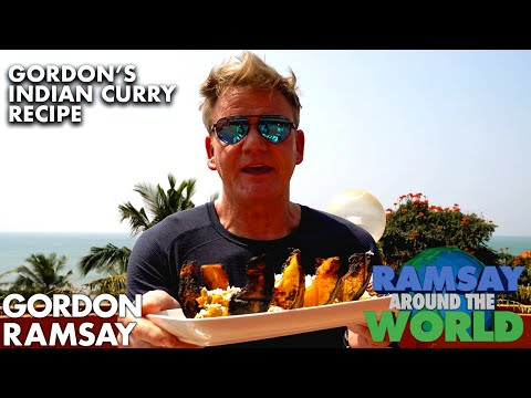 Gordon Ramsay Cooks a Pumpkin Curry in India | Ramsay Around the World