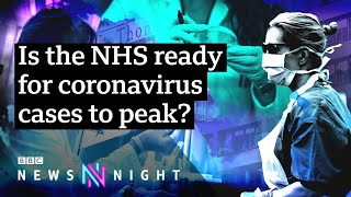 Does the UK have enough ventilators? Questions raised over Covid-19 medical supplies - BBC Newsnight