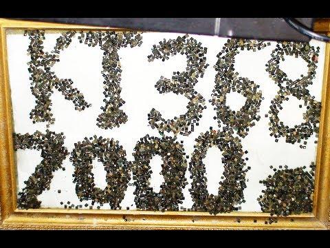 золото которое теряем  - обжиг против дробления аффинаж 7000 бочоночных транзисторов