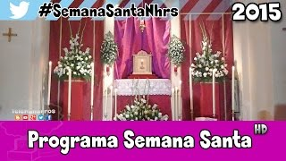 preview picture of video 'Programa Semana Santa Naharros (Cuenca) 2015'