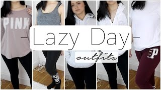 How To Be Cute AND Comfy! Easy Lazy Day Outfits! Allisa Rose