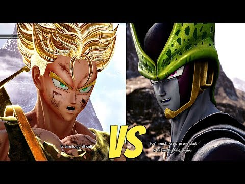 JUMP FORCE - Perfect Cell vs Trunks Super Saiyan (PS4 Pro Gameplay) 1vs1