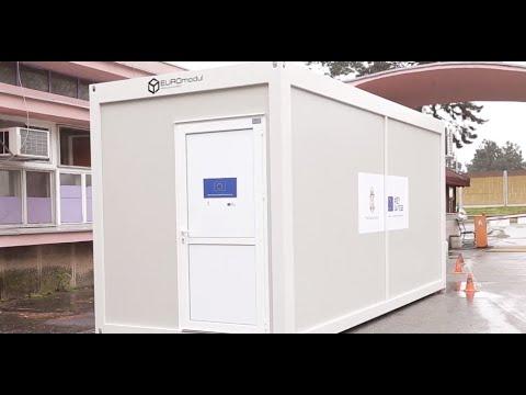 Kontejneri za trijažu pacijenata potencijalno obolelih od COVID-19 - Donacija Evropske unije