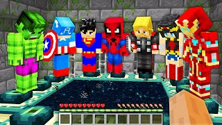Minecraft, But Heroes Beat The Game For You...