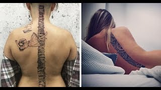 25+ Of The Best Spine Tattoo Ideas Ever