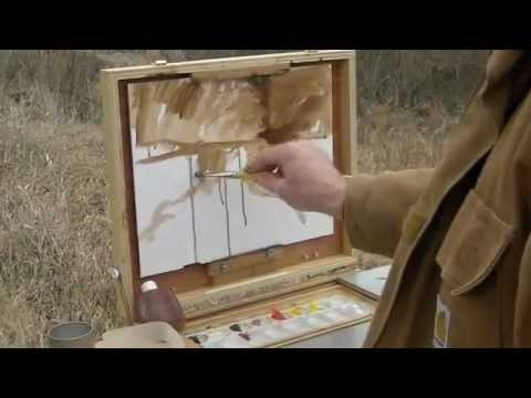 Painting at Hennepin Canal: Atkinson, IL