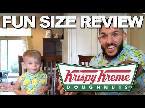 Fun Size Review: Krispy Kreme's Lemon Glazed Donut
