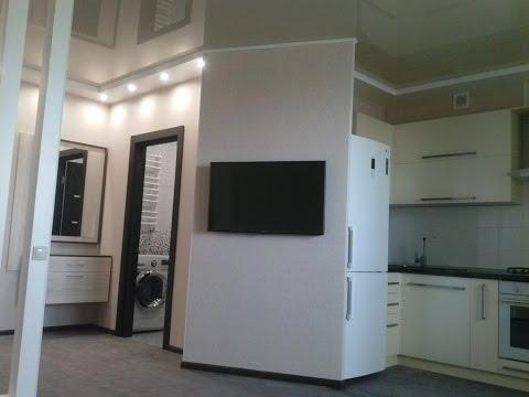 Ремонт двухкомнатной студии квартиры
