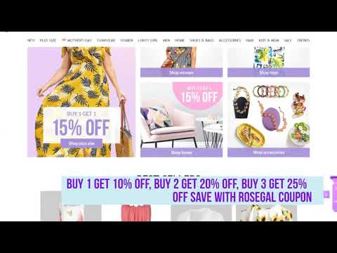 , title : 'Rosegal Coupon Code - Find the latest Rosegal Coupons for Women and Men Clothing'