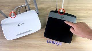 So fügen Sie Ihrem Netzwerk einen Linksys-Router hinzu