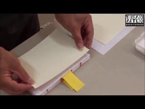 Πώς να φτιάξω ραφτό βιβλίο (3ο μέρος)