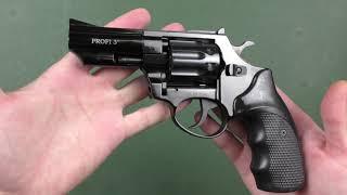 """Револьвер PROFI 3"""" черный пластик от компании CO2 - магазин оружия без разрешения - видео 1"""