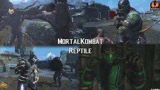 Mortal Kombat X Reptile Skyrim Mod