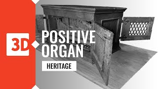 Digitalization and laser scanning of a positive organ from st. Leonard Church in Lipnica Murowana.