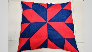 Very Beautiful Cushion Cover Cutting and Stitching || Diy Cushion Cover