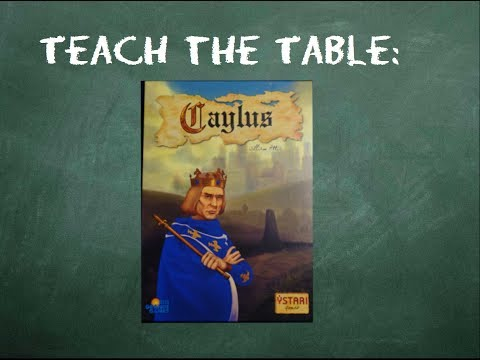 How to play Caylus