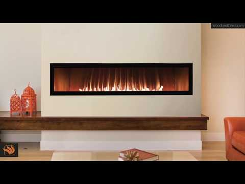 "Boulevard 60"" Linear Ventless Gas Fireplace"
