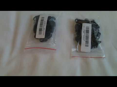 10pcs Tenda antivento fermaglio di fissaggio nero gancio fibbia coccodrillo