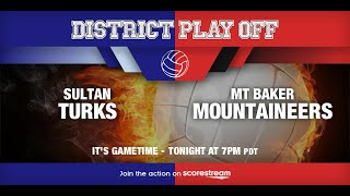 19-20 Girl's Volleyball - Sultan vs. Mt. Baker - PLAYOFF