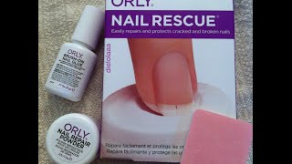 Save That Broken Nail! Try Orly Nail Rescue!