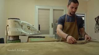 Handmade With Love - Sandali Antiparos - Making Leather Sandals