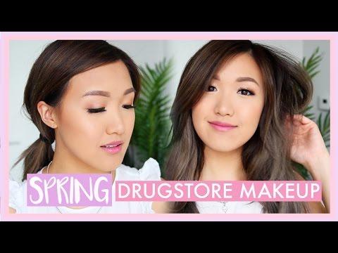 Spring Drugstore Makeup Tutorial | Beginners | ilikeweylie