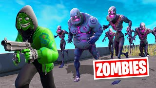 ESCAPE The ZOMBIE APOCALYPSE In FORTNITE!
