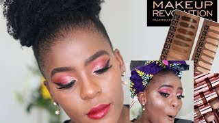 I spent R1639.35 on Makeup Revolution South Africa| It HURTS | Full Face of Makeup Revolution