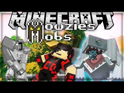 Minecraft: Mod Showcase - Mowzie's Mobs [ EPIC BOSSES ]