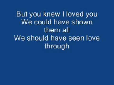 lyrics kissing a fool michael buble