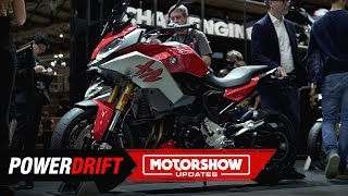 BMW F900R and XR : The F Stablemates : EICMA 2019 : PowerDrift