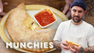 Making Calzones with Frank Pinello from the Pizza Show