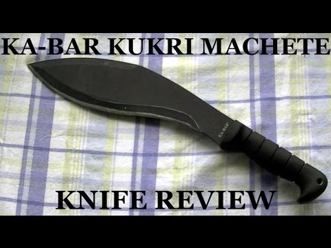 Ka-Bar Kukri Machete Knife Review