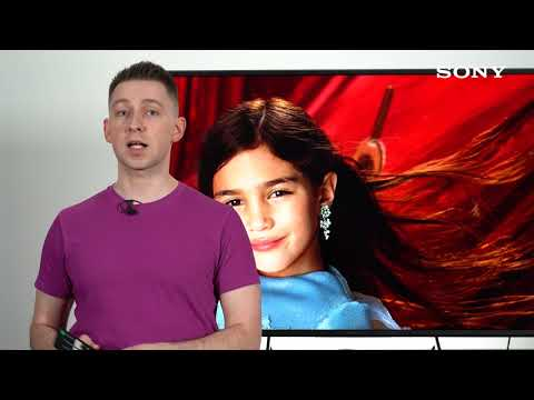 "Телевизор 55"" X81J Sony BRAVIA 4K Google TV 2021 видео 2"