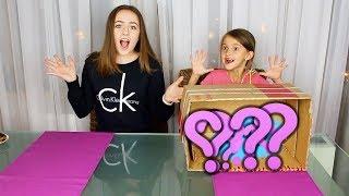 Угадай что в коробке?! Челлендж с сестрой!
