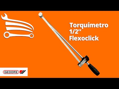 Torquimetro com Encaixe de 1/2 pol. Flexoclick - Video