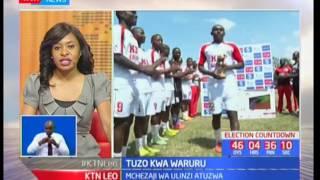 Stephen Waruru atuzwa kwa kuwa nguzo bora katika mwezi wa Aprili