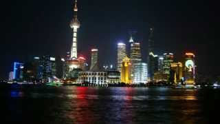 preview picture of video 'Shanghai Skyline from Day to Night - 延时摄影-上海 / Zeitraffer Video von Shanghai'
